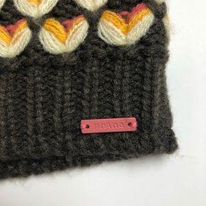 8011e9aa418ac Prana Accessories - Prana shila beanie heart knit pink Pom Pom